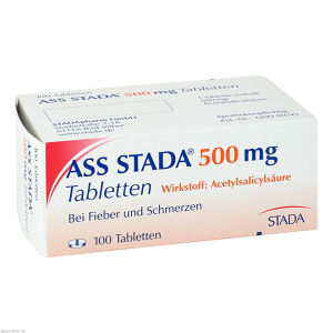 ASS STADA 500mg Tabletten